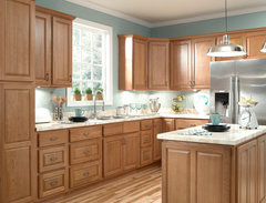 Elegant Ziemlich Honey Oak Kitchen Cabinets · More Info