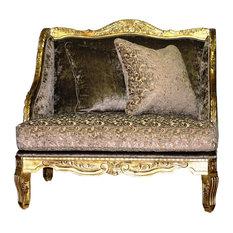 Celina Lounge Chair Beige & Mocha
