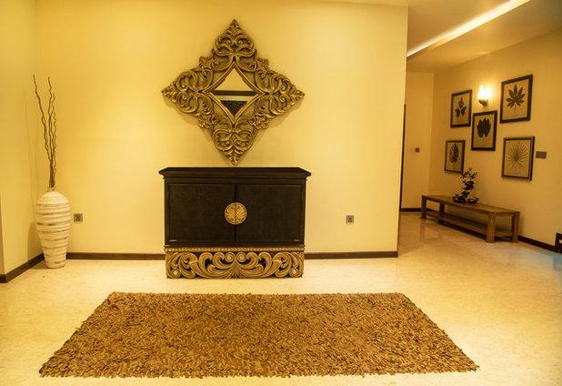 Contemporary Corridor by Vinita Sid Interiors