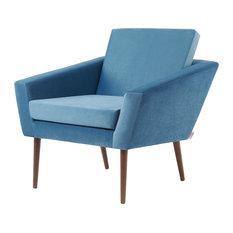 Supernova Lounge Chair, Ocean Blue