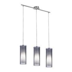 Eglo 90305A Matte Nickel 3X60W Trestle Hanging Light