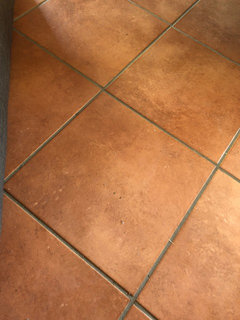 Great Examples Of Transitions In Flooring - Different colors of tile flooring