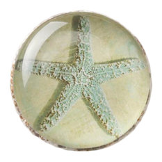 Creative Drawer/Cabinet Pull Handles Alloy Cabinet Knobs, Starfish