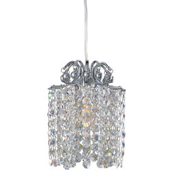 Ideal Transitional Pendant Lighting by Allegri Crystal by Kalco Lighting