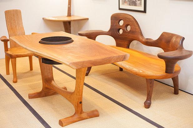 和室・和風 ダイニングテーブル by 手作り造形家具 いっぴん工房