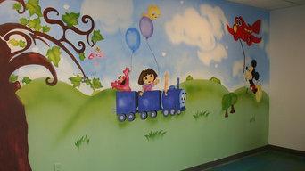 Playroom in Roosevelt Island