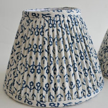 How To Turn Your Fabric into Custom Lampshades