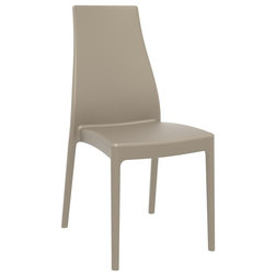 Contemporary Outdoor Dining Chairs by BisonOffice