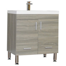 Ideal Contemporary Bathroom Vanities And Sink Consoles by Alya Bath