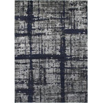 Allstar Rugs - Allstar Rugs Modern and Contemporary Rectangular Accent Rug, Gray, 8'x10' - The original artistry of area rugs infused with the design schemes and colors of today.