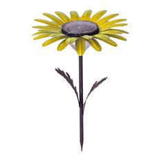 Daisy Solar Garden Light, Yellow