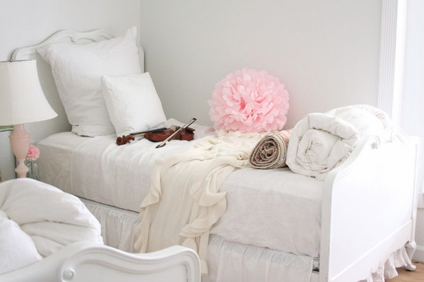 Shabby Chic Style Bedroom By Dreamy Whites