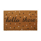 """Hello There"" Doormat"