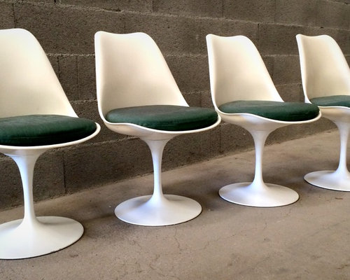 Chaises tulip de eero saarinen dition knoll international 1960 - Chaise saarinen knoll ...