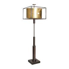 Global Views Double Shade Floor Lamp