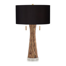 Pacific Coast Lombardy Table Lamp 37T12 - Brown Luster