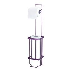 Toilet Paper Holder, Purple