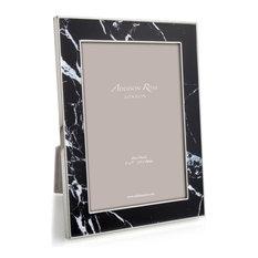 Addison Ross Black Marble Enameled Frame, 5x7