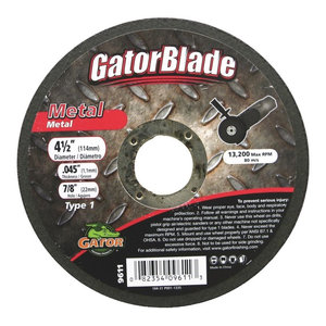ALI INDUSTRIES Gator Finishing 3063 36 Grit Aluminum Oxide Fiber Discs 3 Pack 4 x 5//8