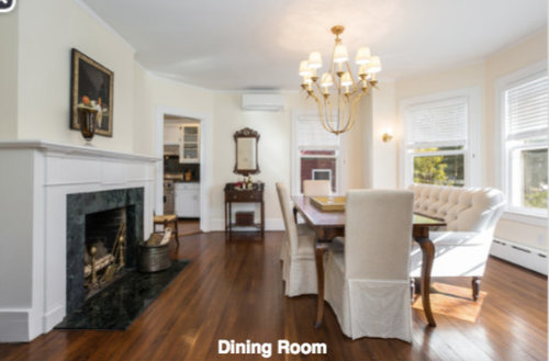 Dining Room Living Swap