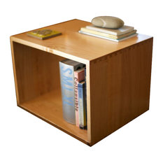 The Utility Collective   Side Boxes, Maple   Side Tables And End Tables