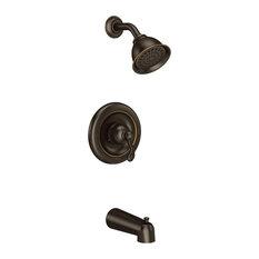 Moen Traditional Mediterranean Bronze Posi-Temp(R Tub/Shower T2123EPBRB