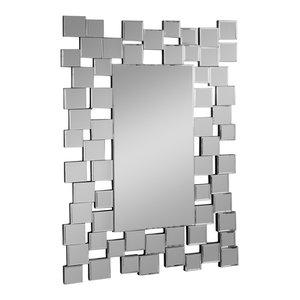 Abbyson Living Aiden Rectangle Wall Mirror