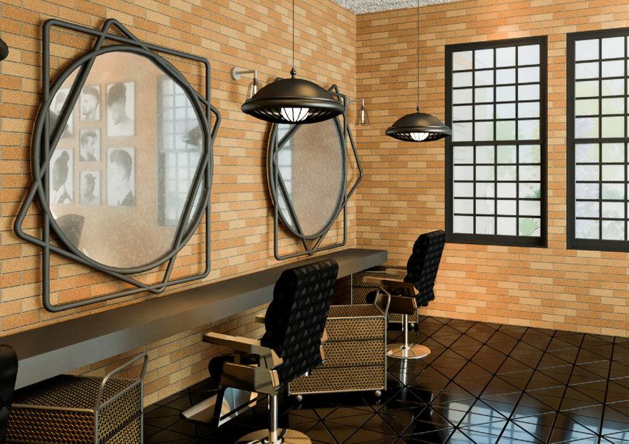 Comercial design-Barber