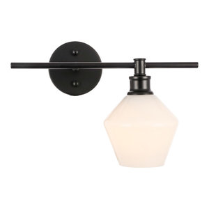Rochester 1 Light Wall Sconce in Black