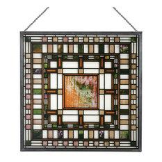 Frank Lloyd Wright D. D. Martin House Skylight Stained Glass