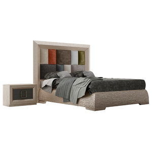 MA-73 Bed, Queen With Nightstand