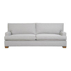 Duralee Furniture - Columbia, Boxed Back Sofa, Lapis - Sofas