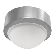 Elco E225 20W Single Light Mini Frosted Glass Dome Surface Mount Downlight