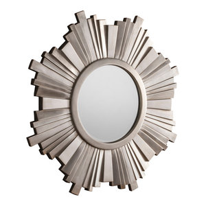 Sunburst Wall Mirror, 109x109 cm