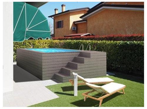 Progetto piscina fuori terra