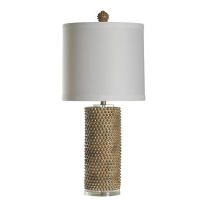 StyleCraft Home Collection L34390DS Signature Table Lamp Georgian Silver