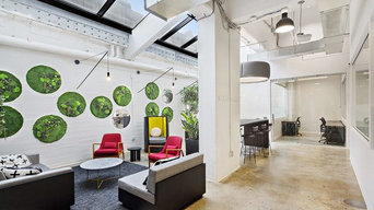 Ignitia Office NYC Wall Gardens Project