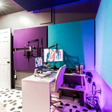 Roswell Basement w/ Recording Studio