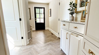 Mudroom with warm layers