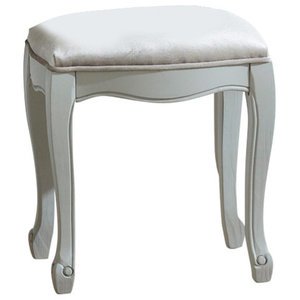 Dressing Table Stool - Elise Grey Range