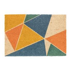 "Prismatic Coir Fiber Doormat , 24""x36"" by Kosas Home"