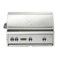 """Viking Range Corporation - Viking 36"""" Built-In Natural Gas Grill, Stainless Steel - Outdoor Grills"""