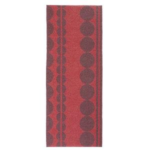 Viva Fire Woven Vinyl Rug, 80x140 Cm