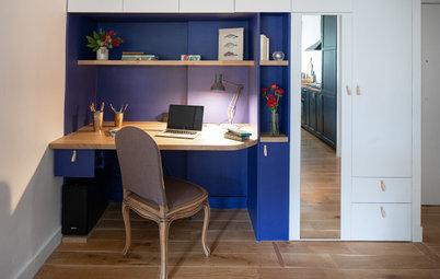 Avant/Après : 2 bureaux de 10 m2 s'invitent à domicile