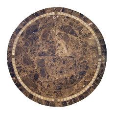 """Elizabeth Mosaic Stone Round Dining Table, 42"""""""