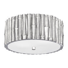 Most popular asian ceiling lights for 2018 houzz crystorama lighting masefield 2 light semi flush mount in antique silver with glass shade aloadofball Images
