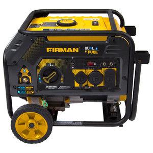 Firman Dual Fuel 4550 3650 Watt Hybrid Series Generator With Recoil Start