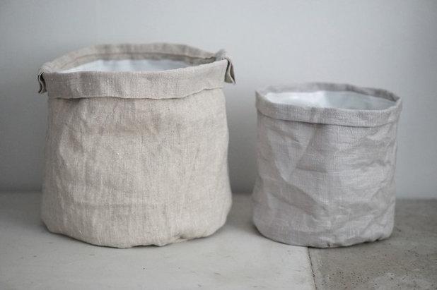 diy fabriquer un cache pot en tissu. Black Bedroom Furniture Sets. Home Design Ideas