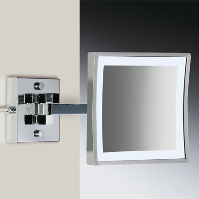 Luxury magnifying mirrors wall mounted led lighted magnifying mirror makeup mirrors aloadofball Choice Image