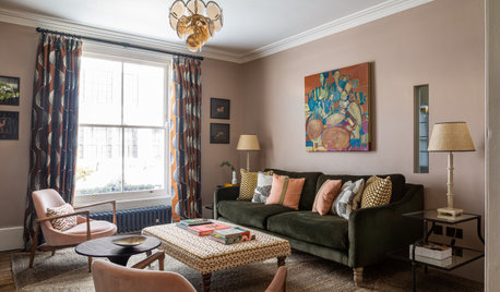 Houzz Tour: A Boutique Hotel Vibe in a Restored Victorian House